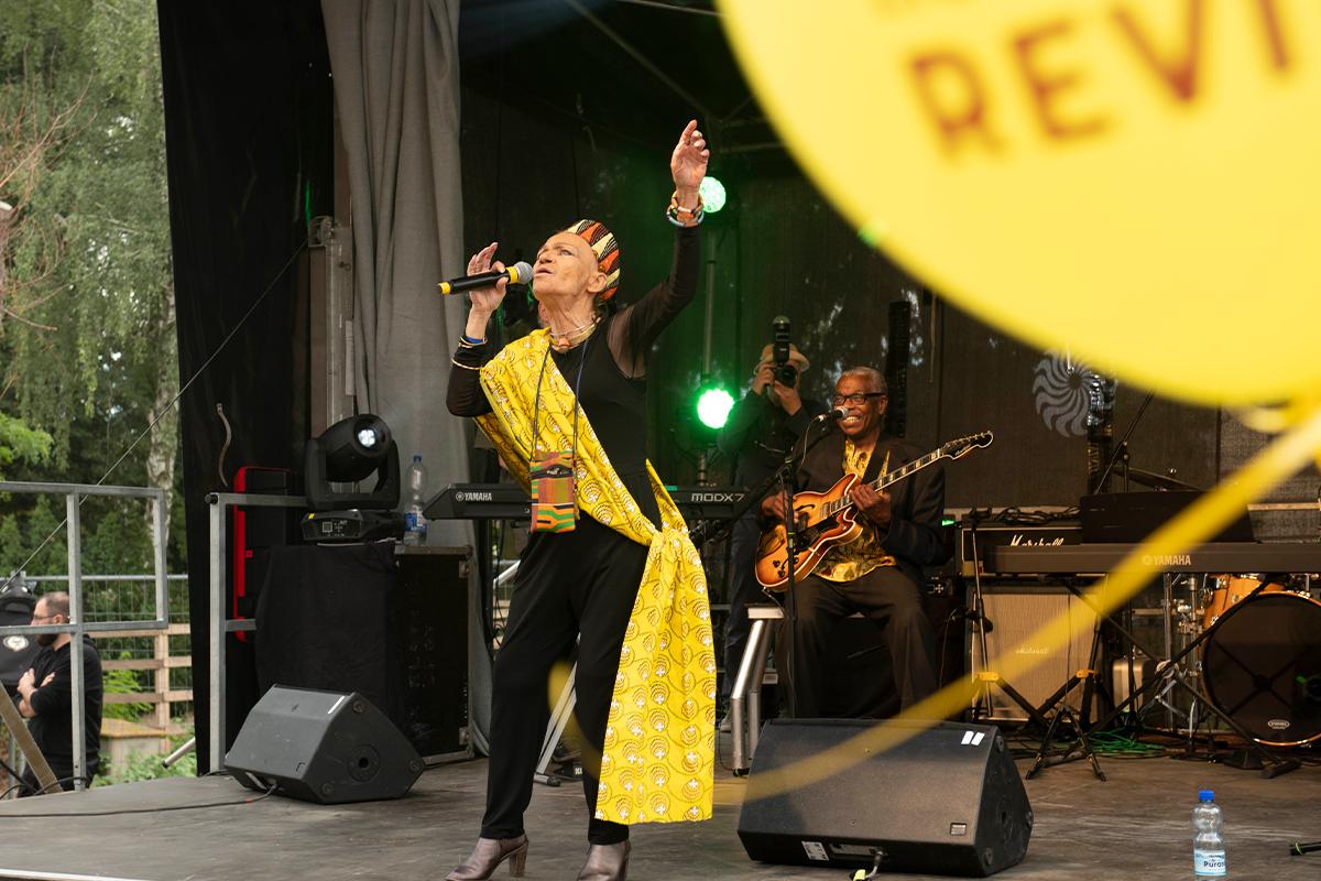 Auf der Bühne war viel zu sehen (Copyright: Thorsten Eichholz)